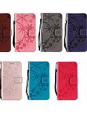 ราคาถูก กรณีอื่น ๆ-Case สำหรับ Huawei P smart / Y9 (2018)(Enjoy 8 Plus) / Huawei Y6 (2018) Wallet / Card Holder / with Stand ตัวกระเป๋าเต็ม สีพื้น Hard หนัง PU