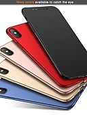 povoljno Zaštitne folije za iPhone-Θήκη Za Apple iPhone XS / iPhone XR / iPhone XS Max Ultra tanko / Mutno Stražnja maska Jednobojni Tvrdo PC