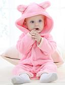 olcso Bébi fehérnemű és zokni-5 darab / 6 darab Baba Lány Aktív / Alap Napi Egyszínű Féhosszú Szokványos Szokványos Pizsamák Barna / Kisgyermek