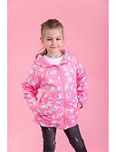 povoljno Jakne i kaputi za djevojčice-Djeca Djevojčice Aktivan Osnovni Dnevno Sport Print Print Dugih rukava Kratka Jakna i kaput Blushing Pink