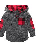 povoljno Majice s kapuljačama i trenirke za bebe-Dijete Djevojčice Vintage Jednobojni Dugih rukava Trenirka s kapuljačom Obala / Dijete koje je tek prohodalo