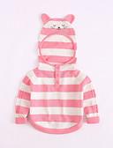 povoljno Džemperi i kardigani za bebe-Dijete Djevojčice Vintage / Aktivan Jednobojni Dugih rukava Džemper i kardigan Plava / Dijete koje je tek prohodalo