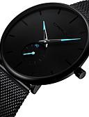 ราคาถูก นาฬิกาข้อมือสแตนเลส-สำหรับผู้ชาย นาฬิกาข้อมือ ญี่ปุ่น นาฬิกาอิเล็กทรอนิกส์ (Quartz) สแตนเลส ดำ โครโนกราฟ น่ารัก Creative ระบบอนาล็อก กำไล แฟชั่น ดูง่าย - สีดำ แดง ฟ้า สองปี อายุการใช้งานแบตเตอรี่