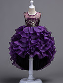 ราคาถูก เดรสเด็กผู้หญิง-เจ้าหญิง ชุดลูกนก หนึ่งชิ้น ชุดเดรส Party Costume ชุดวันคริสต์มาส สำหรับเด็ก เด็กผู้หญิง Princess Lolita วันฮาโลวีน วันคริสต์มาส วันฮาโลวีน วันเด็ก Festival / Holiday เส้นใยสังเคราะห์