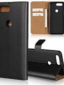 Χαμηλού Κόστους Θήκες / Καλύμματα για το Oneplus-tok Για OnePlus OnePlus 6 / One Plus 5 / OnePlus 5Τ Πορτοφόλι / Θήκη καρτών / με βάση στήριξης Πλήρης Θήκη Μονόχρωμο Σκληρή γνήσιο δέρμα