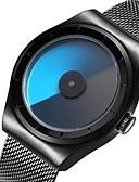 ราคาถูก นาฬิกาข้อมือสแตนเลส-สำหรับคู่รัก นาฬิกาแนวสปอร์ต นาฬิกาข้อมือ ญี่ปุ่น นาฬิกาอิเล็กทรอนิกส์ (Quartz) ดำ / เงิน / Rose Gold 30 m กันน้ำ ปฏิทิน นาฬิกาใส่ลำลอง ระบบอนาล็อก ไม่เป็นทางการ แฟชั่น - สีดำ สีเงิน กุหลาบ