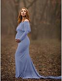 זול שמלות-מקסי אחיד - שמלה נדן אלגנטית בגדי ריקוד נשים