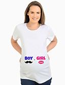 povoljno Majice-Majčinski Majica s rukavima Žene - Osnovni Dnevno Jednobojni Obala