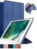 povoljno Kućište iPada-Θήκη Za Apple iPad Mini 5 / iPad New Air (2019) / iPad Air Otporno na trešnju / Zaokret / Ultra tanko Korice Jednobojni Mekano Silikon / iPad Pro 10.5 / iPad 9.7 (2017)