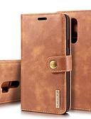 ราคาถูก เคสสำหรับโทรศัพท์มือถือ-Case สำหรับ LG LG V30 / LG V20 / LG G7 Card Holder / Shockproof / with Stand ตัวกระเป๋าเต็ม สีพื้น Hard หนังแท้ / LG G6
