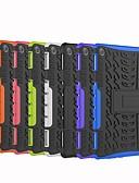 ราคาถูก เคสสำหรับโทรศัพท์มือถือ-Case สำหรับ Huawei Huawei Mediapad T5 10 / Huawei Mediapad M5 Lite 10 / Huawei MediaPad T3 10(AGS-W09, AGS-L09, AGS-L03) Shockproof / with Stand ปกหลัง Tile / เกราะ Hard พีซี