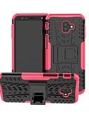 ราคาถูก เคสสำหรับโทรศัพท์มือถือ-Case สำหรับ Samsung Galaxy J8 (2018) / J7 (2018) / J6 (2018) Shockproof / with Stand ปกหลัง Tile / เกราะ Hard พีซี