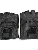 billiga Strumpor och strumpbyxor-Half-finger Herr Motorcykel Handskar Kohud Andningsfunktion / Slitsäker / Skyddande
