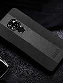 ราคาถูก เคสสำหรับโทรศัพท์มือถือ-Case สำหรับ Huawei Huawei Mate 20 pro / Huawei Mate 20 Shockproof ปกหลัง สีพื้น Hard หนัง PU