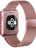 billige Smartwatch Bands-Klokkerem til Apple Watch Series 5/4/3/2/1 Apple Milanesisk rem Rustfritt stål Håndleddsrem