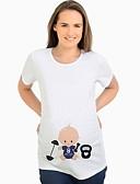 povoljno Majice-Majčinski Majica s rukavima Žene - Ulični šik Dnevno Crtani film Obala