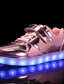 olcso nadrág-Lány Világító cipők PU Tornacipők Kis gyerekek (4-7 év) / Nagy gyerekek (7 év +) Arany / Ezüst / Rózsaszín Ősz