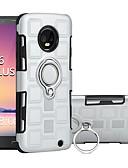baratos Outro caso de telefone-Capinha Para Motorola MOTO G6 / Moto G6 Plus / Moto G5s Plus Antichoque / Suporte para Alianças Capa traseira Armadura Rígida PC