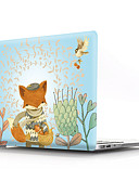 "voordelige Mac-accessoires-MacBook Hoes dier / Cartoon PVC voor MacBook Air 11"" / Nieuwe MacBook Pro 13"" / New MacBook Air 13"" 2018"
