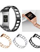 povoljno Smartwatch bendovi-Pogledajte Band za Fitbit ionic Fitbit Sportski remen / Dizajn nakita Nehrđajući čelik Traka za ruku
