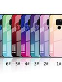 ราคาถูก เคสสำหรับโทรศัพท์มือถือ-Case สำหรับ Huawei Mate 10 lite / Huawei Mate 20 lite / Huawei Mate 20 pro Mirror / Pattern ปกหลัง Color Gradient Hard แก้วไม่แตกกระจาย