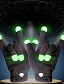 Χαμηλού Κόστους Μηχανικά Ρολόγια-Φωτισμός LED Γάντια LED Φώτα δακτύλων Κλασσικό Θέμα Φωτισμός Ακροδάχτυλα Γιορτή Ενήλικες Όλα Παιχνίδια Δώρο