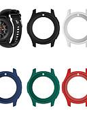 זול מקרה Smartwatch-מגן עבור Samsung Galaxy Gear S3 Frontier / Samsung Galaxy Watch 46 סיליקון Samsung Galaxy