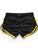 ราคาถูก กางเกงผู้ชาย-สำหรับผู้ชาย Sporty / ซึ่งทำงานอยู่ กีฬา ที่มา Sport เพรียวบาง / กางเกงขาสั้น กางเกง - สีพื้น / ลายบล็อคสี ฤดูร้อน สีเหลือง สีฟ้า สีน้ำเงินกรมท่า XL XXL XXXL