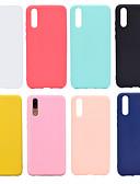 povoljno iPhone maske-Θήκη Za Huawei Huawei Nova 3i / Huawei P20 / Huawei P20 Pro Mutno Stražnja maska Jednobojni Mekano TPU / P10 Lite / P10