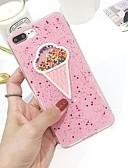 Χαμηλού Κόστους Προστατευτικά Οθόνης για Samsung-tok Για Apple iPhone 8 Εξαιρετικά λεπτή / Με σχέδια Πίσω Κάλυμμα Παγωτό Μαλακή TPU