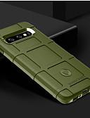 ราคาถูก เคสสำหรับโทรศัพท์มือถือ-Case สำหรับ Samsung Galaxy S9 / S9 Plus / S8 Plus Shockproof ปกหลัง สีพื้น Soft ซิลิโคน