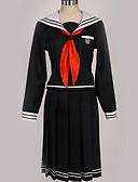povoljno Lolita haljine-Inspirirana Danganronpa Toko Fukawa Anime Cosplay nošnje Japanski Cosplay Suits Uglađeni / Suvremeno Kravata / Top / Suknja Za Muškarci / Žene