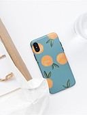 Χαμηλού Κόστους Προστατευτικά Οθόνης για Samsung-tok Για Apple iPhone XS Max Εξαιρετικά λεπτή / Με σχέδια Πίσω Κάλυμμα Φρούτα Μαλακή TPU