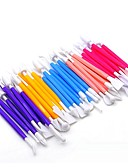 Χαμηλού Κόστους Quartz Ρολόγια-Baking & Ζαχαροπλαστικής Σπάτουλες 8τεμ Πλαστική ύλη ΕΞΩΤΕΡΙΚΟΥ ΧΩΡΟΥ Για Κόκκινο Μπλε Ροζ
