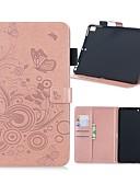 olcso iPad tok-Case Kompatibilitás Apple iPad Air / iPad 4/3/2 / iPad Mini 3/2/1 Pénztárca / Kártyatartó / Állvánnyal Héjtok Pillangó Kemény PU bőr / iPad (2017)