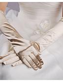 povoljno Stole za vjenčanje-Terilen Do lakta Rukavica Jednostavan / Rukavice S Jedna boja