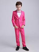 billiga Kostymer till ringbärare-Fuchsia POLY Ringbärarkostym - 1set Inkluderar Skjorta