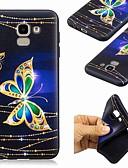 ราคาถูก เคสสำหรับโทรศัพท์มือถือ-Case สำหรับ Samsung Galaxy J7 (2017) / J6 (2018) / J6 Plus Pattern ปกหลัง Butterfly Soft TPU
