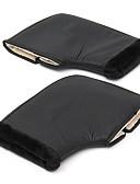 baratos Vestidos Longos-Lidar com barra de motocicleta inverno muffs quentes luvas de proteção à prova d 'água preto