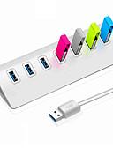 ราคาถูก เคส iPad-USB 3.0 to USB 3.0 ฮับ USB 7 พอร์ต ความเร็วสูง