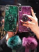 billige Samsung-tilbehør-Etui Til Apple iPhone XS / iPhone XR / iPhone XS Max Støtsikker Bakdeksel Glimtende Glitter Myk TPU