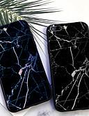 baratos Capinhas para iPhone-Capinha Para Apple iPhone XS / iPhone XR / iPhone XS Max Estampada Capa traseira Mármore Macia TPU