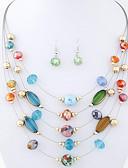 povoljno Trendy Jewelry-Žene Boemski stil Etnikai Više slojeva Legura Dnevno