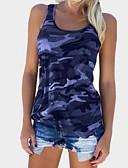 ราคาถูก รถถังสตรีและเสื้อชูชีพ-สำหรับผู้หญิง ขนาดพิเศษ เสื้อกล้าม Military อำพราง สีเทา
