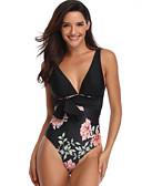 ราคาถูก ชุดว่ายน้ำบิกินี่และ-ปกติ ไนลอน ชุดว่ายน้ำ & บิกินี่ สัมผัสแห่งความรู้สึก ลายดอกไม้ สวมใส่ทุกวัน ดอกไม้