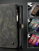 povoljno Maske za mobitele-Θήκη Za Samsung Galaxy Galaxy S10 Novčanik / Utor za kartice / sa stalkom Korice Jednobojni Tvrdo PU koža