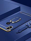 povoljno iPhone maske-Θήκη Za Apple iPhone XS / iPhone XR / iPhone XS Max Pozlata / Prsten držač / Ultra tanko Stražnja maska Jednobojni Tvrdo PC