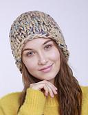 ราคาถูก หมวกสตรี-สำหรับผู้หญิง สีพื้น สังเคราะห์ ซึ่งทำงานอยู่ พื้นฐาน สไตล์น่ารัก-หมวกปีกกว้าง ตก ฤดูหนาว สีเหลือง สีบานเย็น เทาอ่อน