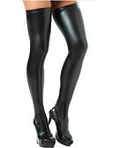 Χαμηλού Κόστους Κάλτσες & Καλσόν-Γυναικεία Σούπερ Σέξι Καλτσοδέτες - Μονόχρωμο Λεπ΄το Μαύρο Ασημί Ρουμπίνι Ένα Μέγεθος