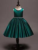 billiga Flickklänningar-Barn Småbarn Flickor Vintage Ljuv Enfärgad Jul Ärmlös Knälång Klänning Rodnande Rosa